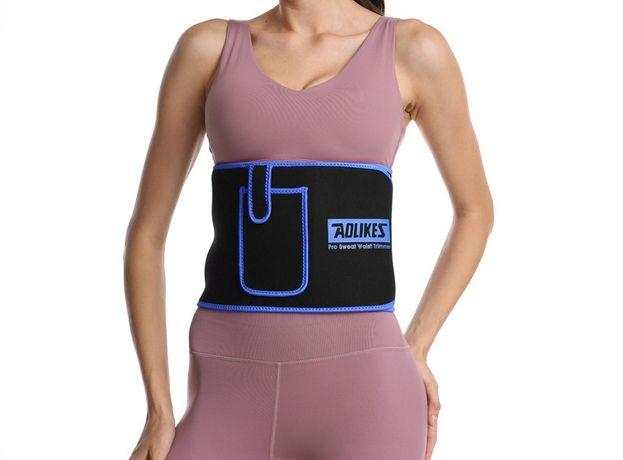 Фитнес пояс ADLIKES для похудения и занятий спортом женский L