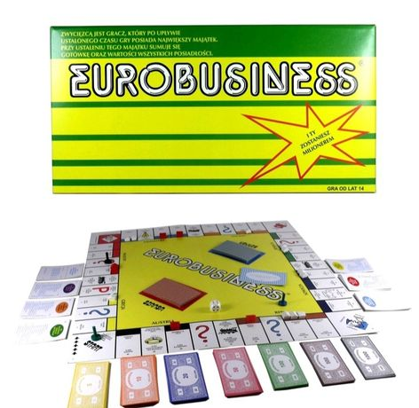 Eurobiznes gra planszowa