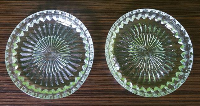 Kryształowe talerzyki * 2 szt.