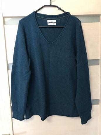 Christian Berg Wełna Merino one size szmaragd nowy sweter
