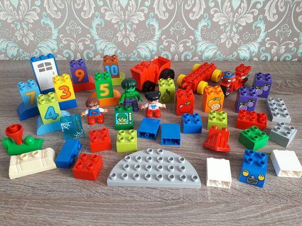 Lego Duplo конструктор орыгинал детали, человечки, цифры, транспорт
