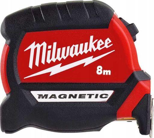 Taśma miernicza Milwaukee Premium Magnetic 8m