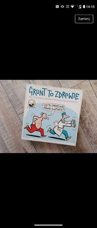 Gra planszowa Grunt To Zdrowie ilustrowana Andrzej Mleczko