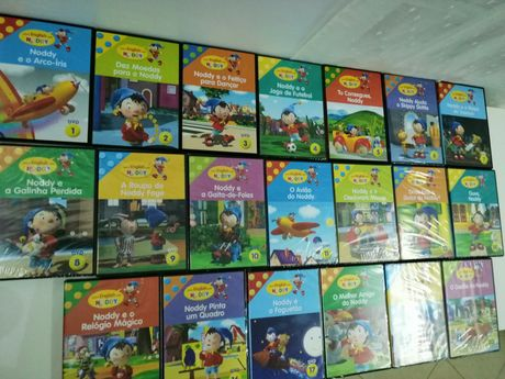 Vendo colecção de DVD do Noddy, Learn English with Noddy. São 20un.
