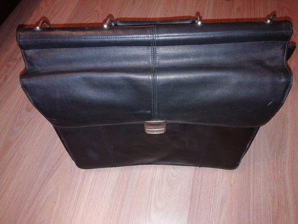 Шкіряний портфель