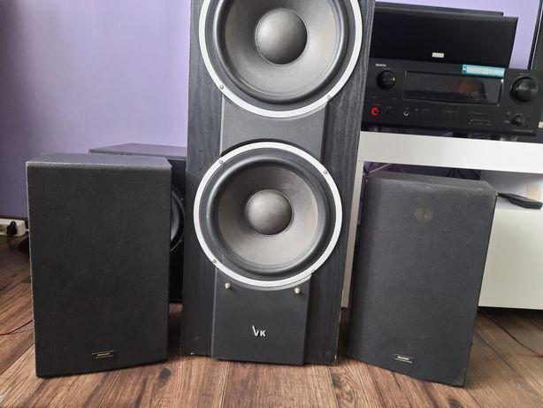 Kolumny głośnikowe Sharp do wieży kina domowego głośniki