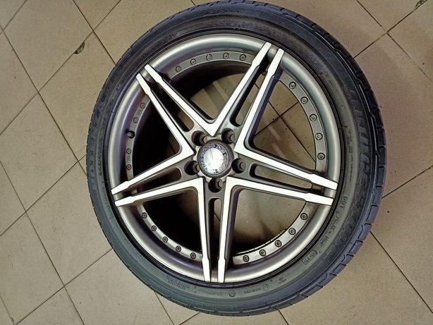 Jantes Mercedes 18 com pneus