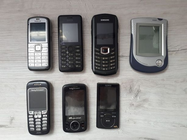 stare telefony, mp3 (samsung, nokia)