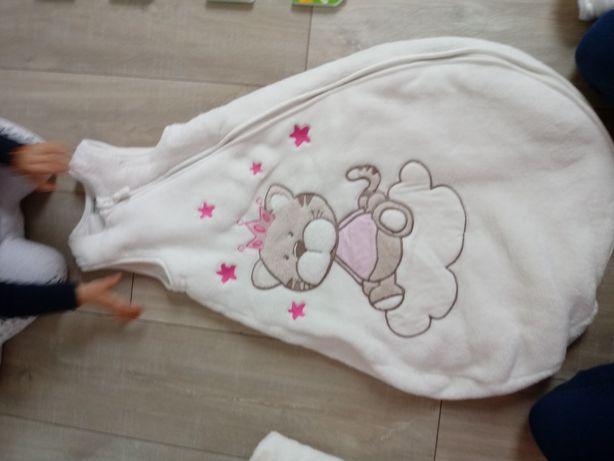 Śpiworek zimowy 100 % bawełna