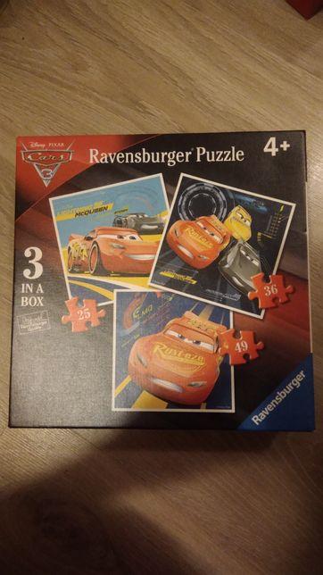 Puzzle Ravensburger Auta zygzak McQueen