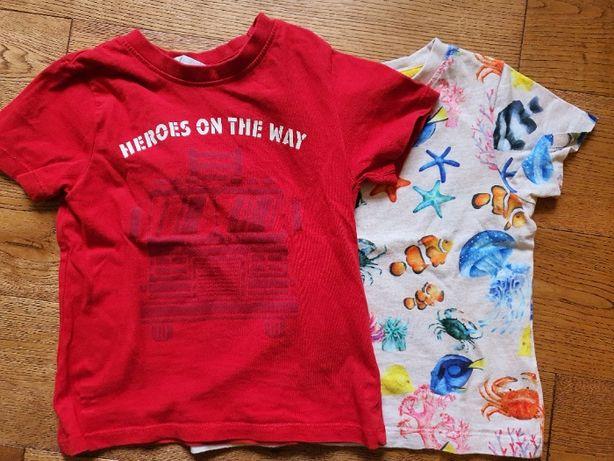 PACZKA: Koszulka z krótkim rękawem H&M rozm. 92