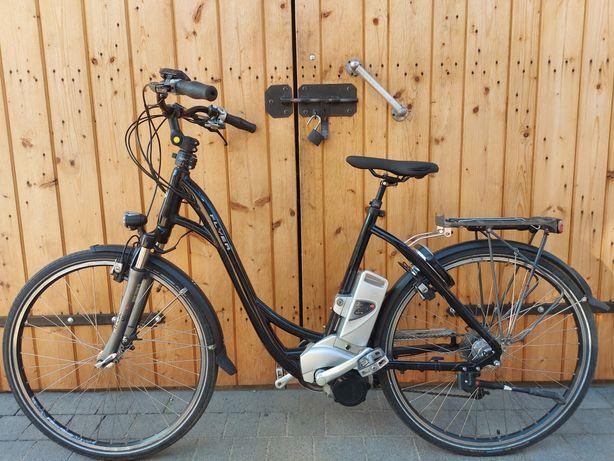 45 km/h Rower Elektryczny FLYER PANASONIC 36 Gazelle miejski DUALDRIVE