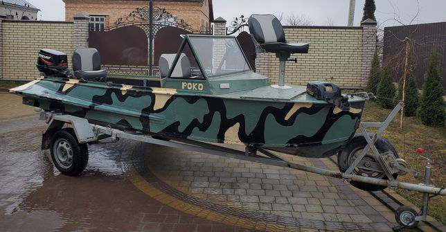Лодка Южанка, мотор Меркурі 30