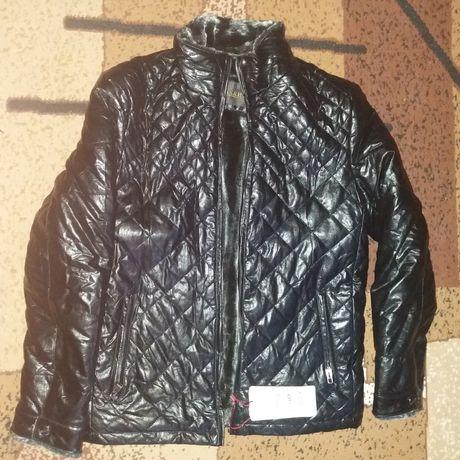 Куртки зимние новые(50,54); куртка кожаная мужская