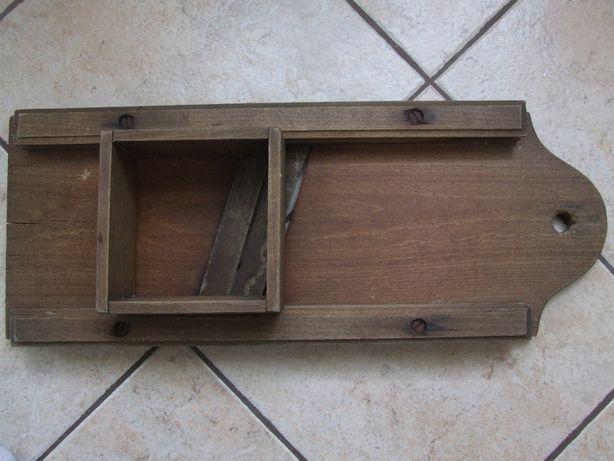 Stara szatkownica do kapusty drewniana antyk