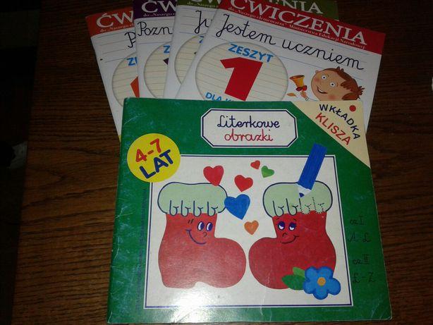 Książeczki do nauki pisania 4-7 lat