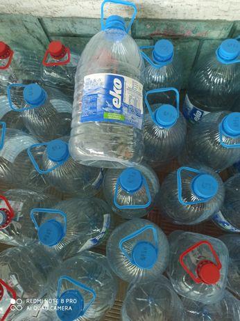 6л, 5л пластикові бутилки