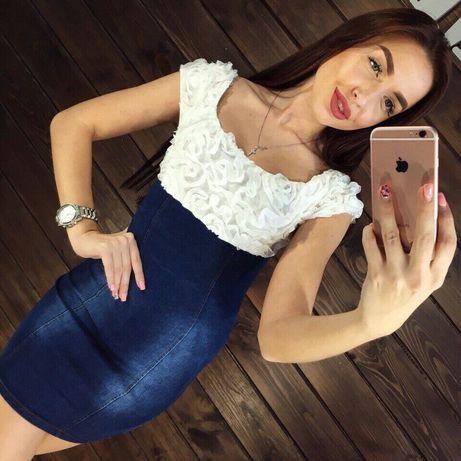 Продам джинсовый сарафан/ джинсовое платье