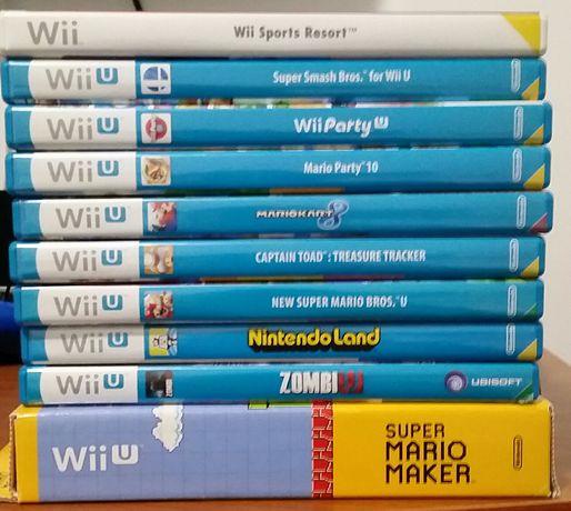2 jogos Wiiu Nintendo land zombi  zombiu zombie nintendoland wii u