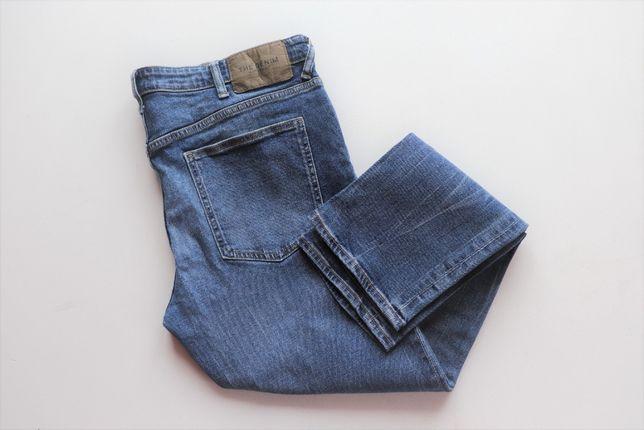 Męskie spodnie jeansy C&A W40 L32 Slim Fit Stretch jak nowe C&A