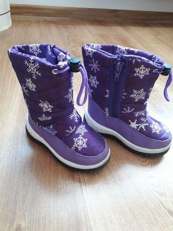 Buty zimowe, śniegowce Cortina rozm. 25