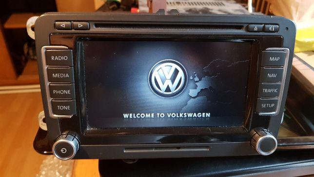Radio Navi RNS 510 VW Passat, Turan, Golf 6 Rok produkcji 2010 + KOD