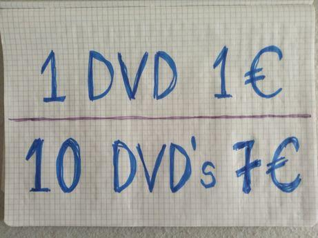 """DVD""""s Diversos Baratos"""