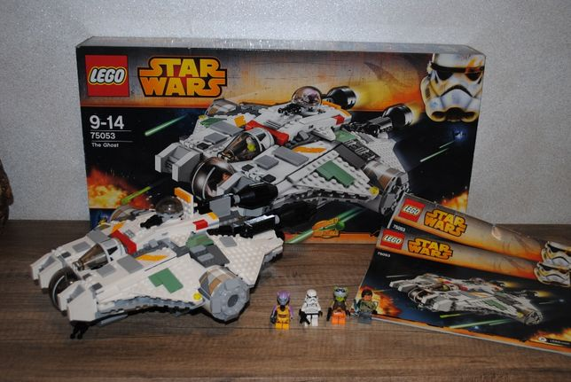 Lego Star Wars 75053 The Ghost kompletny zestaw