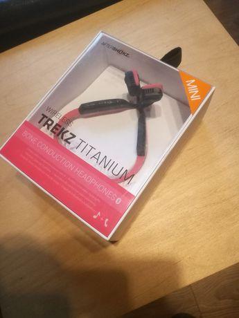 Trekz Aftershokz Titanium - słuchawki kostne