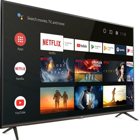 Телевизор Smart TV 4К ANDROID 9.0