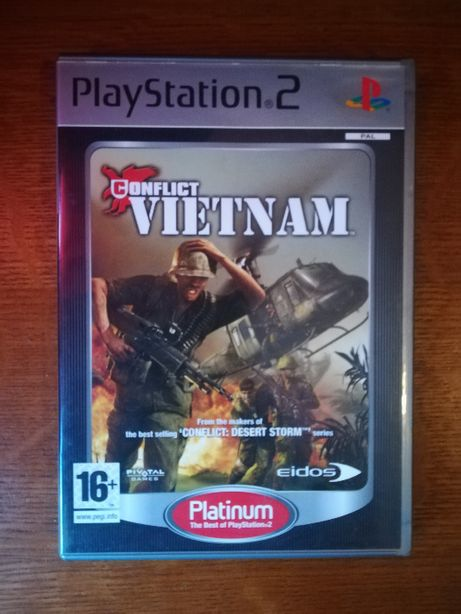 Jogo PS2 - Conflict Vietnam