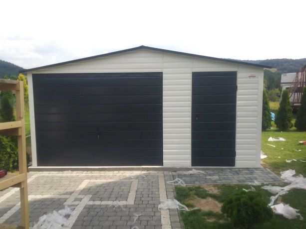 Garaż blaszany 5x6 Kutno