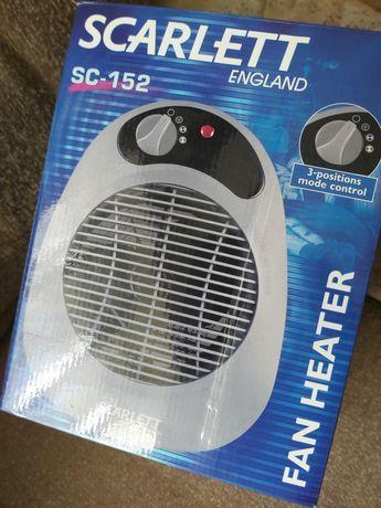 Тепловентилятор Scarlett 2000 Вт уютный