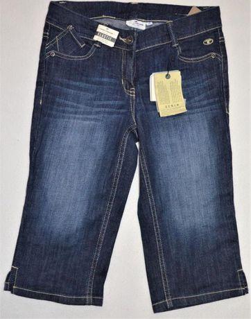 Nowe Spodnie 3/4 spodenki chłopięce Tom Tailor rozm. 140