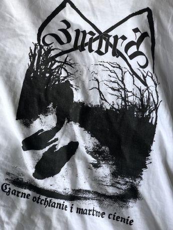 Tshirt ZMORA black metal pagan werewolf promotion
