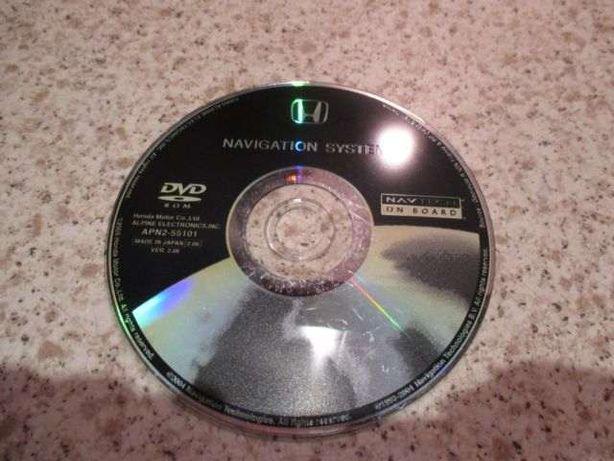 DVD / CD Honda - Atualização GPS / Navegação