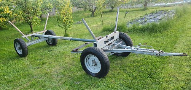 Wóz ciągnikowy ciężki długi z skrzynią!