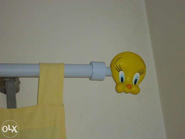Terminais para varão de cortinado Tweety