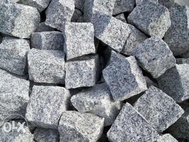 B Kostka granitowa szara do ogordu GRANIT 8/11 Kamień dostawa Śląsk