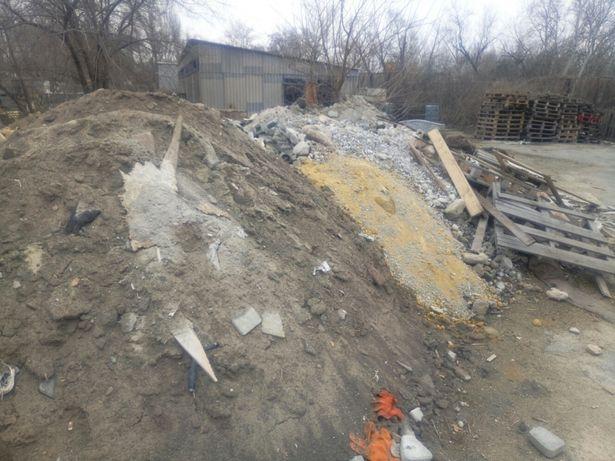 Строительный мусор, бой кирпича, отходы производства