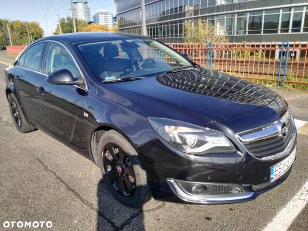 Opel Insignia Opel INSIGNIA 2015r 1.6 CDTI 136KM,automat,czarne skóry,niski przebieg
