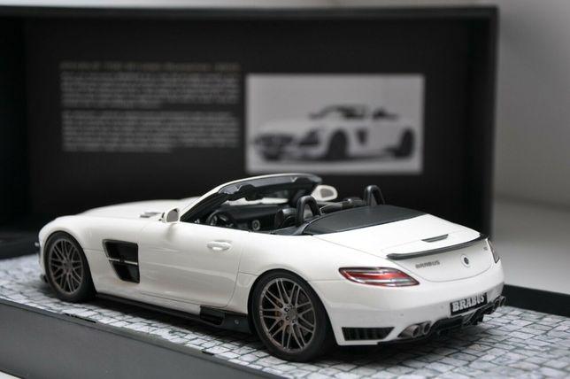 Mercedes Brabus 700 Biturbo Roadster - 1:18 - Minichamps