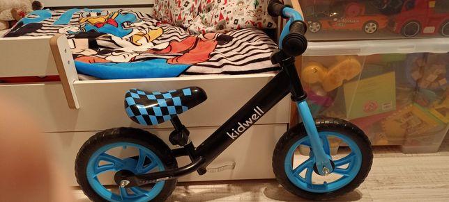 Rowerek biegowy niebieski
