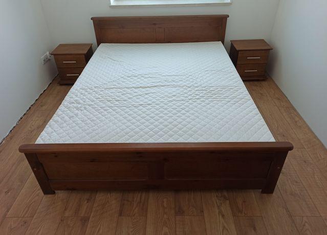 NOWE meble do sypialni łóżko komoda szafka nocna LITE DREWNO! TANIO!