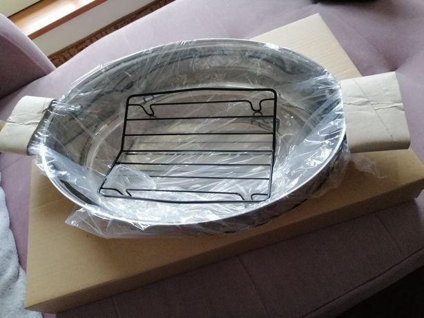 Kolekcja szefa kuchni Tupperware brytfanna nierdzewna bez przykrywki