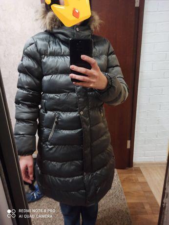 Пуховик зимний 48 р