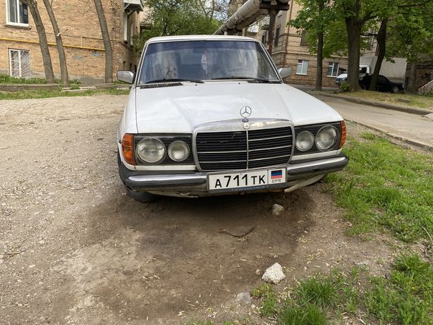 Mercedes w123 дизель 2.4