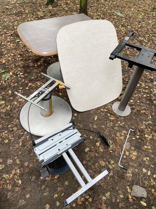Noga nogi pneumatyczna do stolu stól stolik blat jacht kamper camp Glinno - image 1