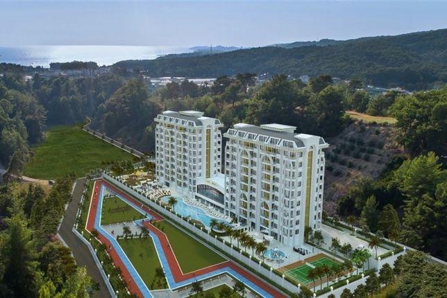 Квартира 1+1 в новом ЖК, регион Алания. Турция
