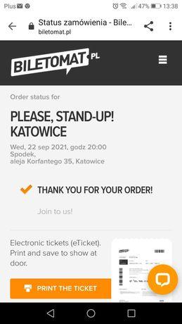 Sprzedam Bilety stand up
